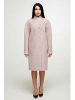 Жіноче пальто «Джуді» світло-рожевого кольору