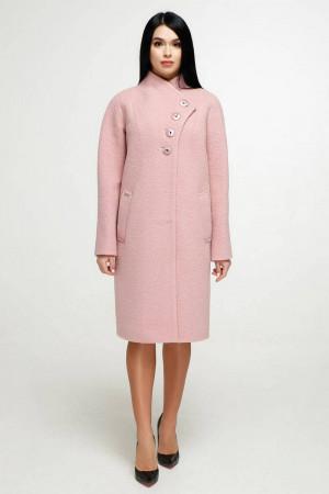 Женское пальто «Джуди» розового цвета