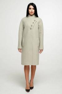 Жіноче пальто «Джуді» зеленого кольору