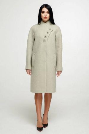 Женское пальто «Джуди» зеленого цвета