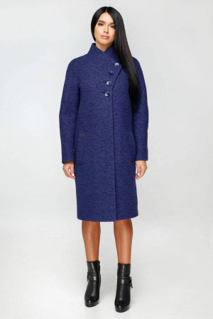 Жіноче пальто «Джуді» кольору нічного неба