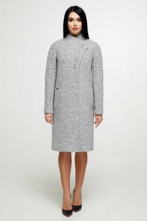 Женское пальто «Джуди» светло-серого цвета