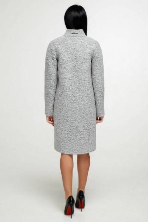 Жіноче пальто «Джуді» світло-сірого кольору