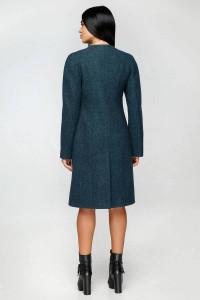 Женское пальто «Бизан» зеленого цвета