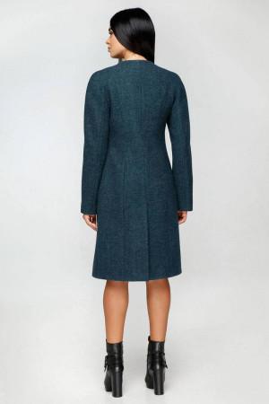 Жіноче пальто «Бізан» зеленого кольору