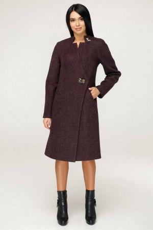 Женское пальто «Бизан» цвета старой кожи