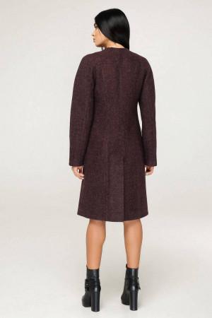 Жіноче пальто «Бізан» кольору зістареної шкіри