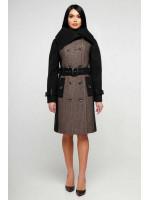 Женское пальто «Татры» бежевого цвета