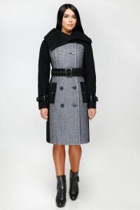 Жіноче пальто «Татри» сірого кольору