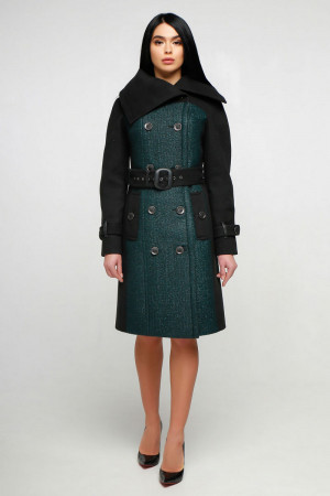 Женское пальто «Татры» зеленого цвета