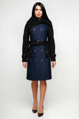 Жіноче пальто «Татри» синього кольору