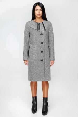 Жіноче пальто «Ліара» сірого кольору