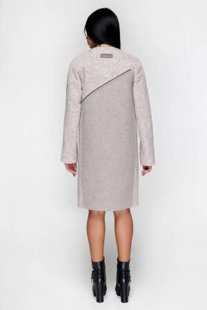 Жіноче пальто «Ліара» бежевого кольору