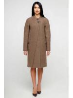 Жіноче пальто «Олаф» коричневого кольору