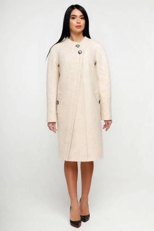 Жіноче пальто «Олаф» бежевого кольору