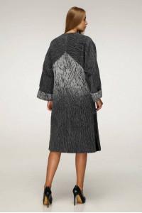 Жіноче пальто «Санса» сірого кольору