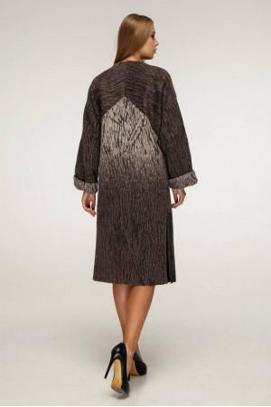 Жіноче пальто «Санса» кольору мокко