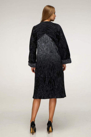 Жіноче пальто «Санса» темно-синього кольору
