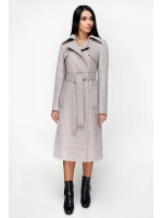 Женское пальто «Пэтти» светло-бежевого цвета