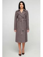 Женское пальто «Пэтти» сиреневого цвета
