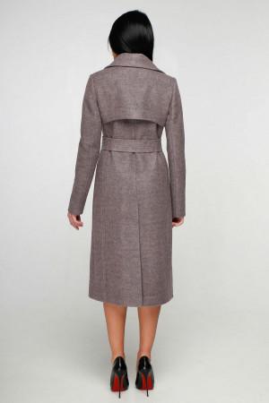 Жіноче пальто «Петті» бузкового кольору
