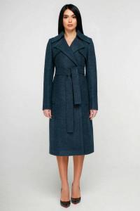 Жіноче пальто «Петті» зеленого кольору