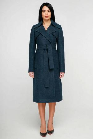Женское пальто «Пэтти» зеленого цвета 50 размер
