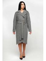 Жіноче пальто «Антра» сірого кольору