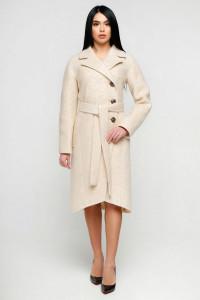 Жіноче пальто «Антра» бежевого кольору