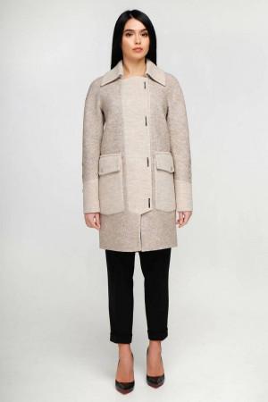 Жіноче пальто «Загреб» бежевого кольору