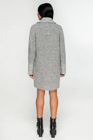 Жіноче пальто «Загреб» сірого кольору
