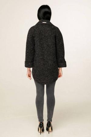 Жіноче пальто «Аміра» чорного кольору