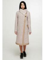 Жіноче пальто «Дарка» бежевого кольору