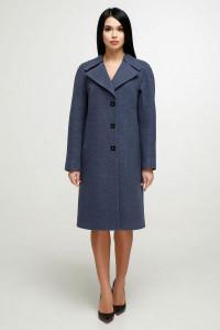 Жіноче пальто «Модрина» сірого кольору