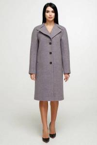 Жіноче пальто «Модрина» світло-бузкового кольору