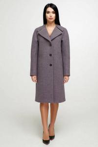Жіноче пальто «Модрина» бузкового кольору
