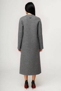 Женское пальто «Комбо» темно-серого цвета