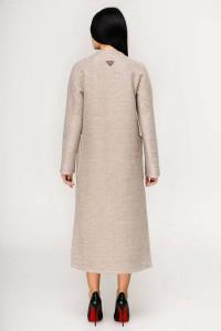 Женское пальто «Комбо» бежевого цвета