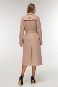 Жіноче пальто «Коста» коричнево-рудого кольору
