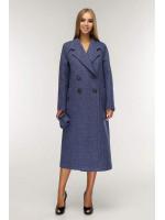 Женское пальто «Коста» синего цвета