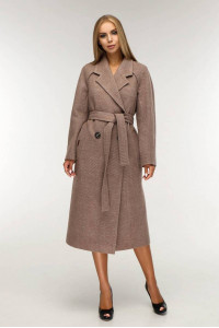 Жіноче пальто «Коста» бежевого кольору