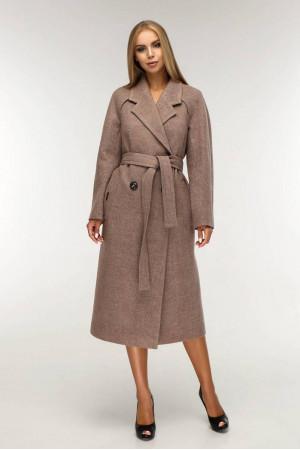 Женское пальто «Коста» бежевого цвета