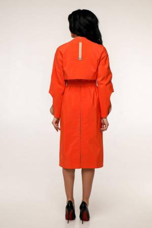 Женский плащ «Мартен» красно-оранжевого цвета
