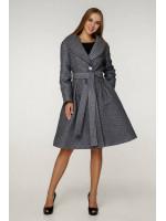 Жіноче пальто «Пегін» сірого кольору