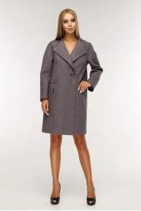 Жіноче пальто «Астра» рожево-коричневого кольору