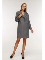 Жіноче пальто «Астра» сіро-зеленого кольору