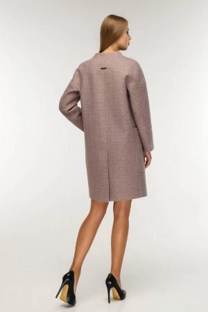 Жіноче пальто «Астра» кольору старого дерева