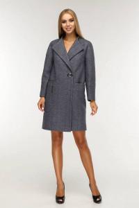 Жіноче пальто «Астра» сірого кольору