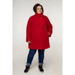 Жіноче пальто «Нінель» червоного кольору