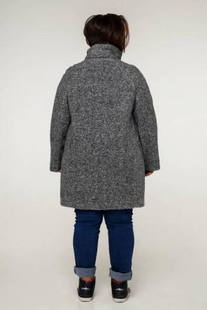 Жіноче пальто «Нінель» сірого кольору